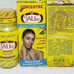 Concentré aux extraits de fruits et enrichi aux huile essentielles Peau jaune 4000f