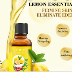 Huile essentielle au citron.