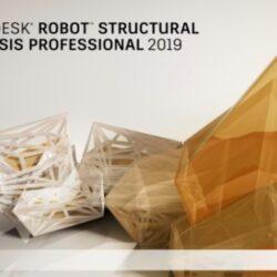 LOGICIEL AUTODESK ROBOT STRUCTURAL ANALYSIS PROFESSIONAL 2019
