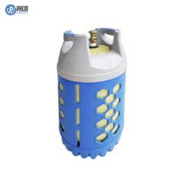 bouteille de gaz domestique butane translucide